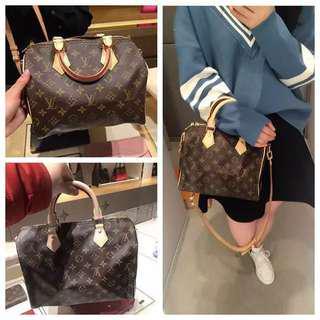 Louis Vuitton Old-fashioned Speedy Shoulder Pillow Bag Shoulder Diagonal Portable Handbags M41113