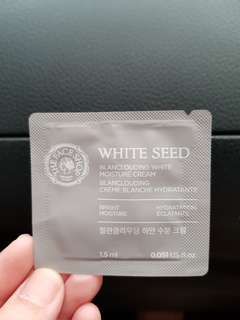 The Face Shop White Seed Cream TESTER