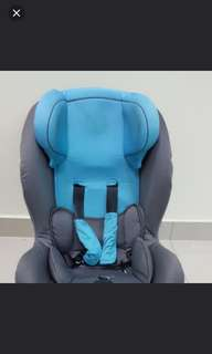 Car Seat for toddler - orange n grey version