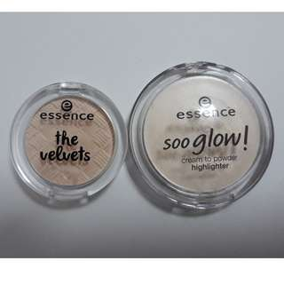 Essence Cream Highlighter and Eyeshadow