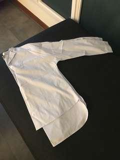 Womens Uniqlo x Hana Tajima Blue Shirt