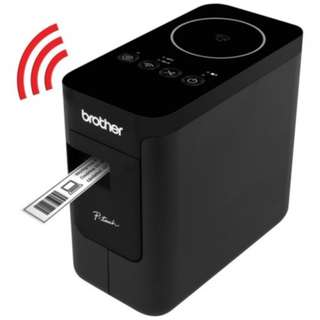 Brother PT-P750W - Compact Label Maker with Wireless Enabled Printing (Wireless & NFC ready)