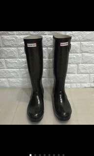 免運#Hunter#雨鞋#US 7