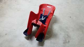 Bicycle child seat for sale - Polisport