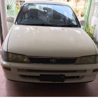 Used Car Toyota Corolla 1995 1.6cc