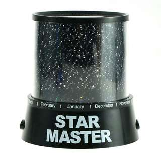 LED Romantic Gift Cosmos Star Sky Master Projector Starry Night Light Lamp Baby