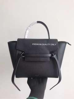 Celine Nano Belt Bag- black