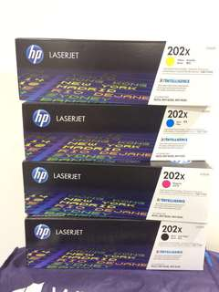 HP M254, HP Mfp M280, HP Mfp M281, HP 202X, CF501X, CF502X, CF503X, Authentic Toner Cartridge High Capacity