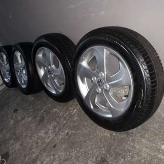 sport rim Honda city original