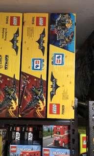 Lego Batman Batwing and Break-in Cave