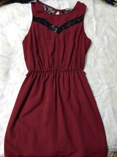 F21 Red Dress (cute for dates!)