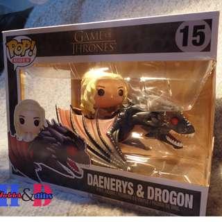 Funko Pop Game of Thrones Daenerys & Drogon (Rides)