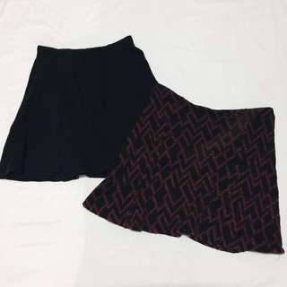 Bundle of Skirts (Pull & Bear and Terranova)