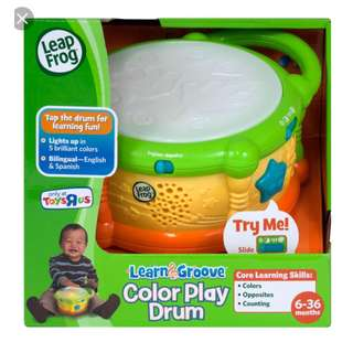 Leap Frog Learn & Groove Colour Play Drum (6-36M)