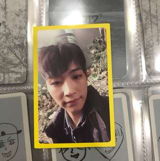 Eyes on you Got7 JB photocard