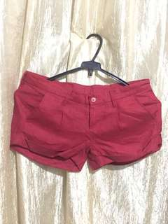 Unbranded Red Ladies Shorts