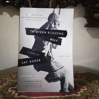 novel thirteen reasons why by jay asher