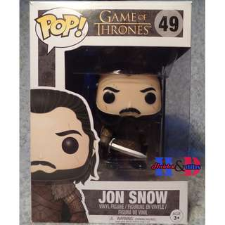 Funko Pop Game of Thrones Jon Snow