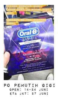 Whitestrips teeth whitening pemutih gigi