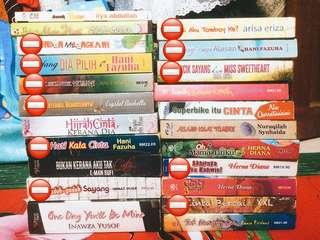 Novel Melayu Terpakai