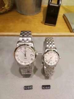 代購 SOLVIL ET TITUS 瑞士鐵達時情侶裝腕錶