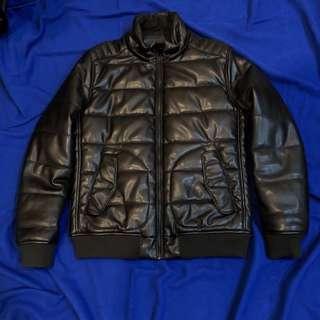 Jaket Kulit Zara