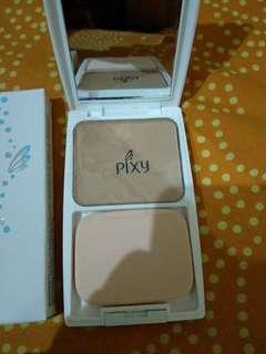 Pixy bedak Twc UV whitening perfect fit