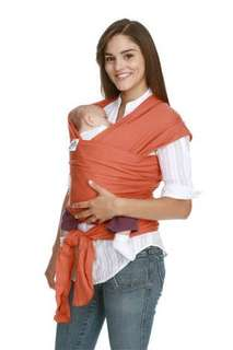 Moby Wrap Baby Carrier (Orange)