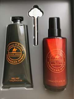 Crabtree and Evelyn Travel Set