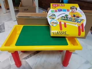 Multiple Kid Table (Free 200pcs bricks)