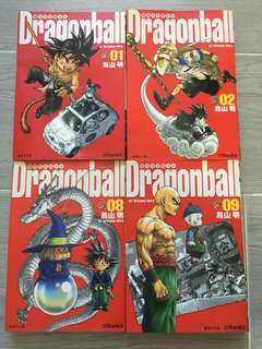 漫畫 - 龍珠完全版 4 本 Dragon Ball