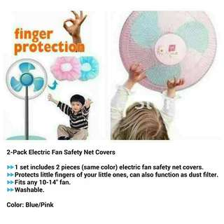 2-Pack Electric Fan Safety Net Cover Once Color only