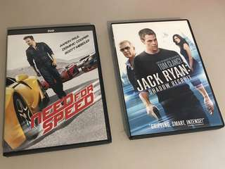 Need for Speed, Jack Ryan: Shadow Recruit, Magic Mike XXL, Footloose
