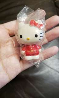 全新 Sanrio Hello Kitty 塑膠夾一個 Korea 1990年出品