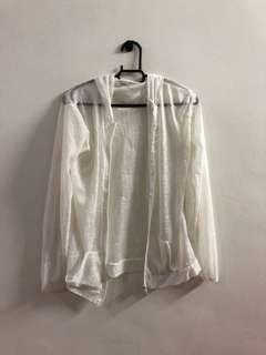Semi transparent outer jacket