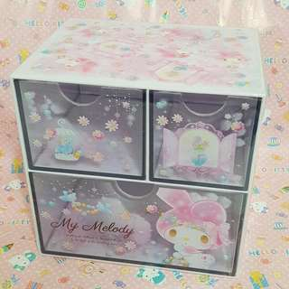 MY MELODY Sanrio Chest of Drawers