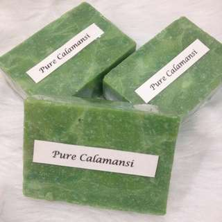 (3 for 70) Pure Calamansi Beauty Bar Soap