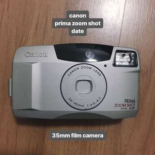 canon prima zoom shot date 35mm film camera