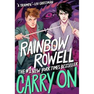 *NEW* Carry On by Rainbow Rowell