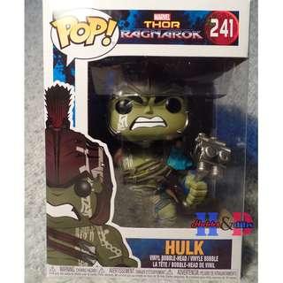 Funko Pop Gladiator Hulk, Thor Ragnarok