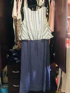 🚚 氣質韓版度假連身群洋裝