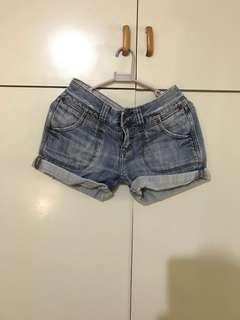 Miss Selfridge denim shorts