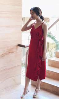 red dress. label8