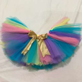 Rainbowdash inspired tutu skirt