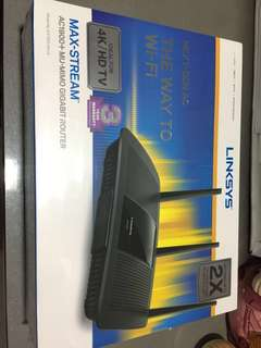 Brand new Linksys AC1900+ MU MIMO router. Sealed. Unopened.