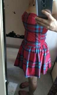 美國hoillter Tube Dress