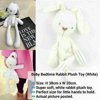 Baby Bedtime Rabbit Plush Toy