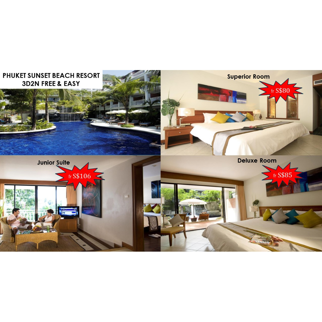 3d2n Phuket Sunset Beach Free Easy