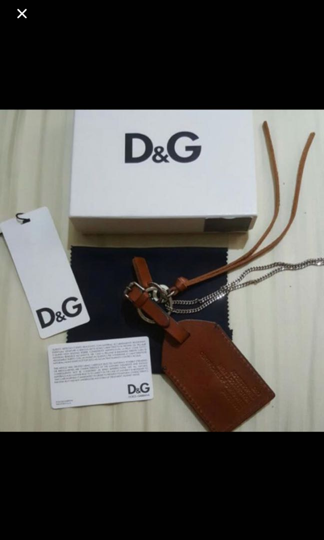 5aa5bac44a6a Authentic Brand New D G Dolce Gabbana Bag Charm Key Ring