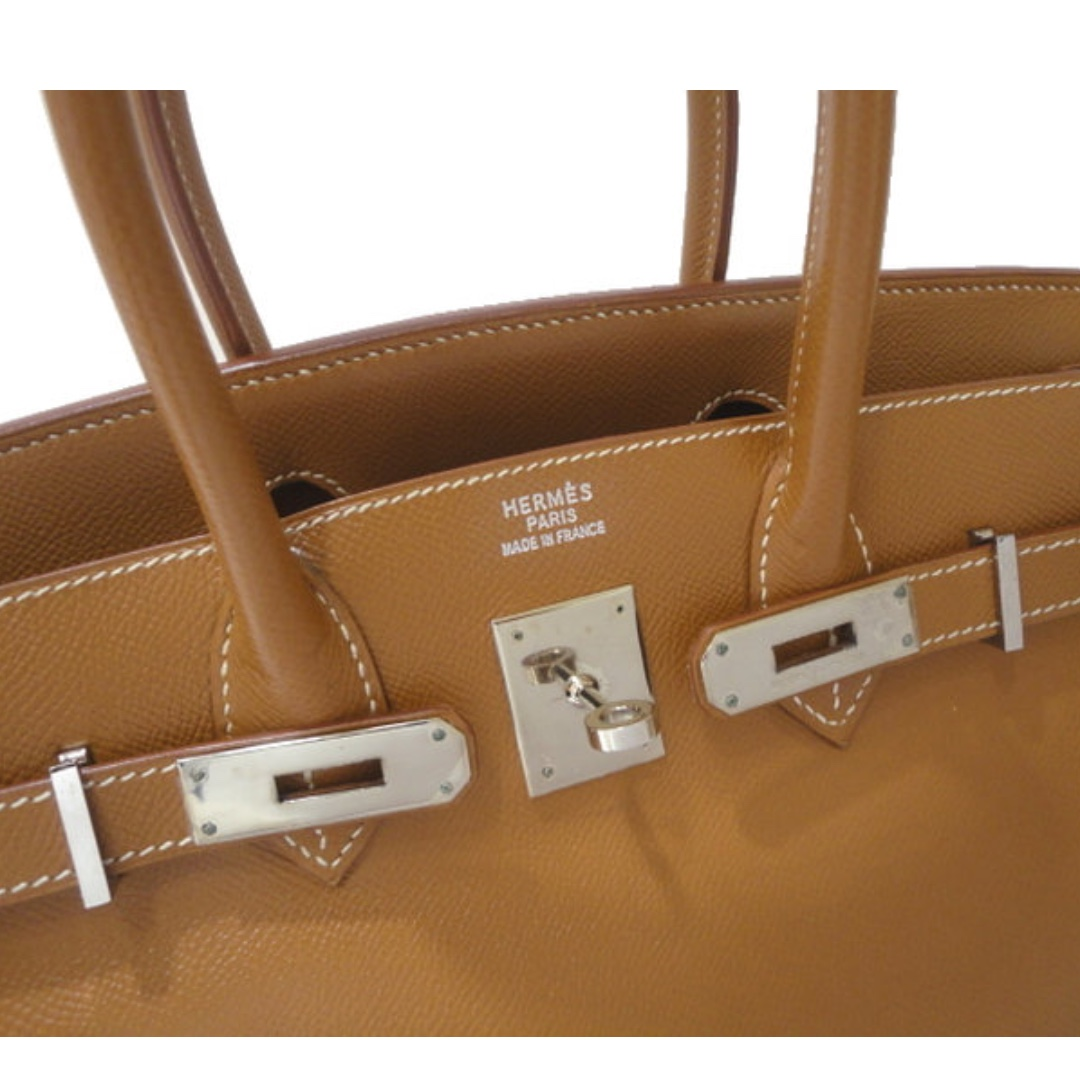 7ddc24686e4 Authentic Hermes birkin 30 gold epsom phw stamp D, Luxury, Bags   Wallets,  Handbags on Carousell